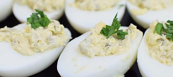 ביצים קשות ממולאות