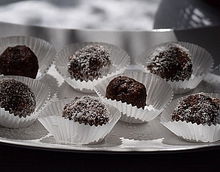כדורי שוקולד טעימים