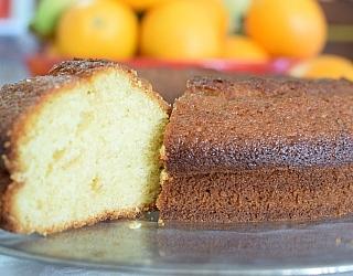 תמונה של עוגת תפוזים בחושה